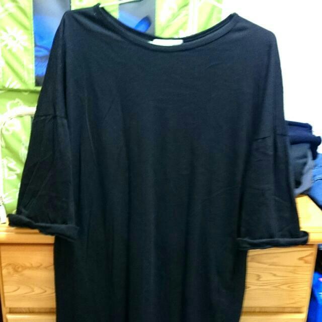 Joyce Shop 休閒素面黑色洋裝