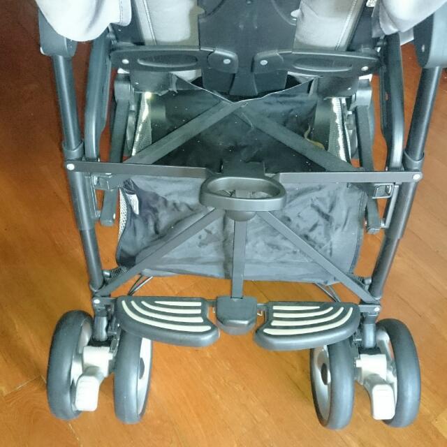 Like New! Peg Perego Pliko P3 Stroller/Pram (accomodates 2 kids)