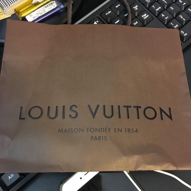 LV 小紙袋