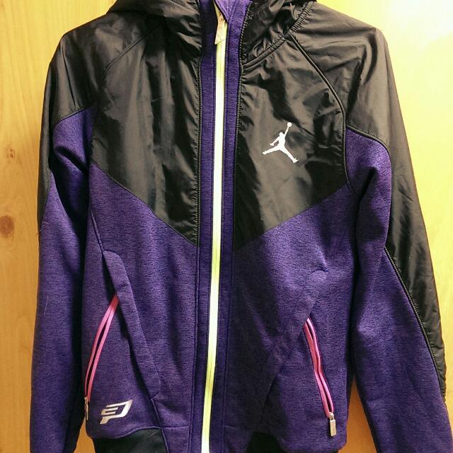 Nike Cp3 外套 紫螢光 小丑配色