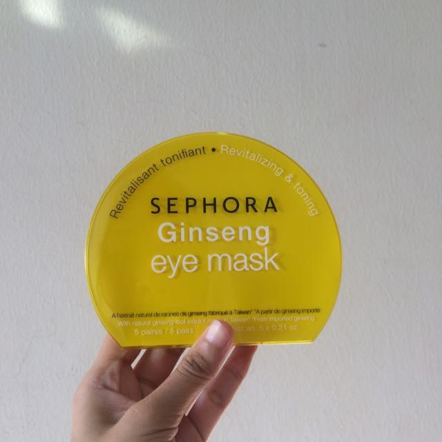 Sephora Ginseng Eye Mask