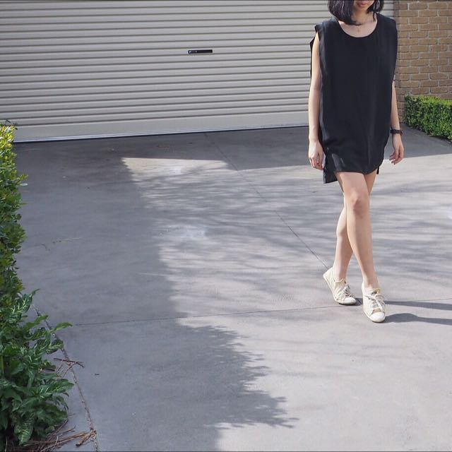 STAPLE Black Casual Dress