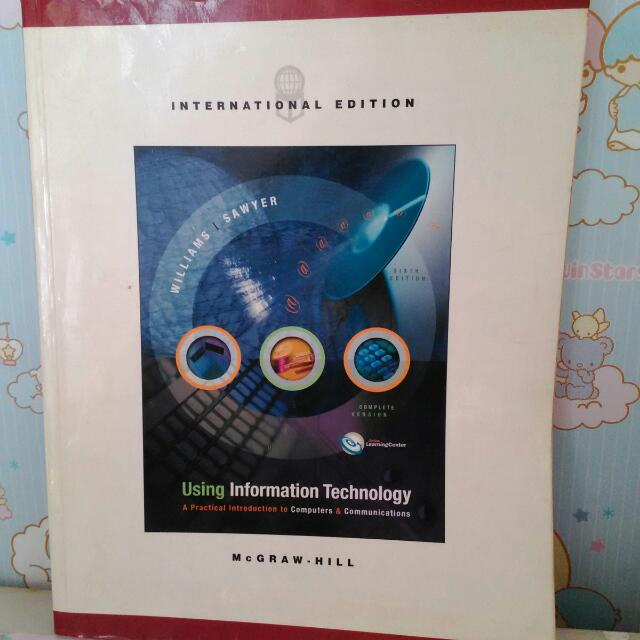[SECONDHAND] Using Information Technology