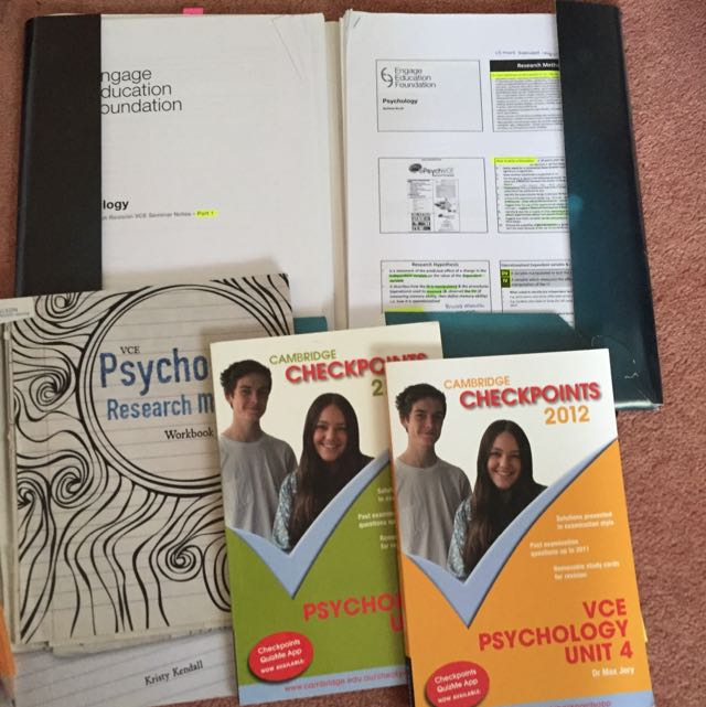VCE Psychology Books