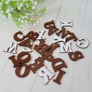 Wooden Alphabets & Numbers