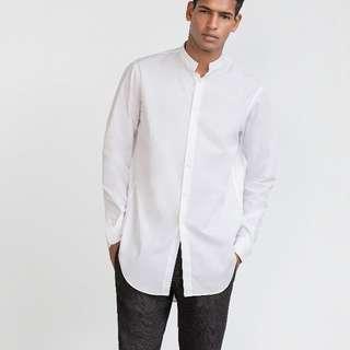 Uniqlo-府稠襯衫(長袖)-全新未拆封 -八折賣