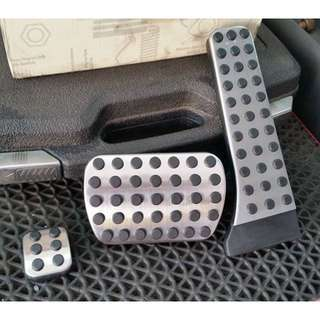 Mercedes W204 W205 W212 CLA Screwless AMG Pedals