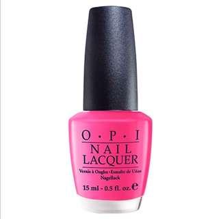 OPI Mexico 啜飲草莓瑪格麗特指甲油(NLM23)