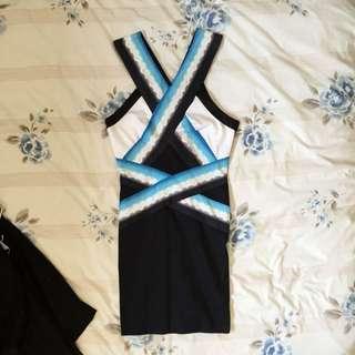 Bardot Bodycon Party Dress