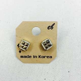 抗過敏鋼針個性耳環