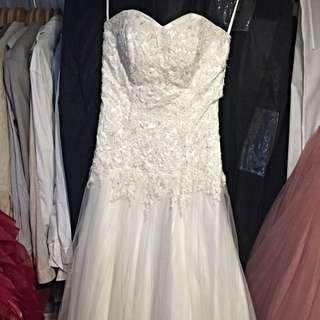 精緻清新白紗 婚紗 禮服