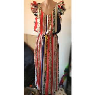 Bnwt Resort Dress. Beach Dress. Size 10. Medium