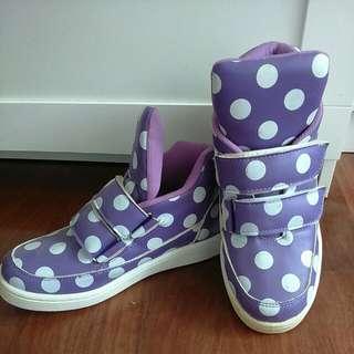 🎆紫色點點鞋
