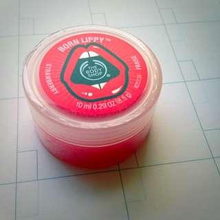 美體小舖🎀The body shop 草莓護唇膏