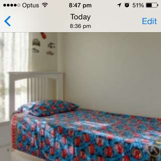 Single Bed Cars quilt Cover