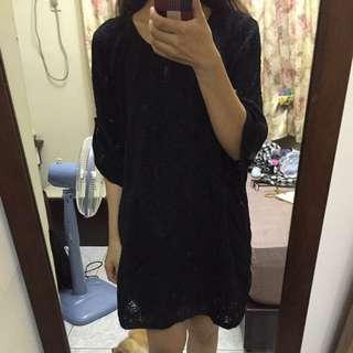 日系蕾絲小洋裝