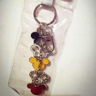 🚚 香港迪士尼米奇鑰匙圈