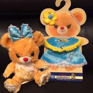 【現貨】克莉絲汀杏仁大學熊衣服
