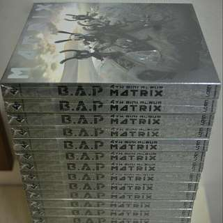 B.A.P MATRIX Normal Edition Album New & Factory Sealed Free Postage