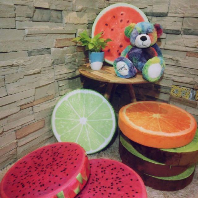 3D絨毛水果抱枕超低價
