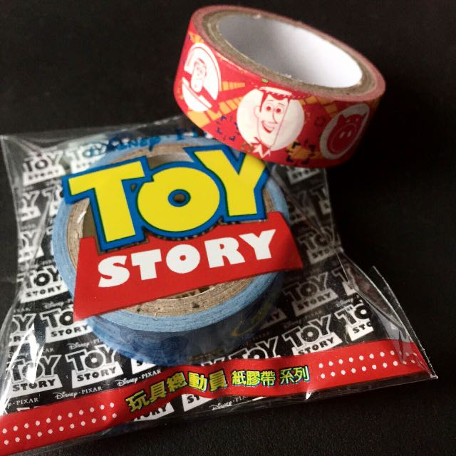 迪士尼90週年 玩具總動員紙膠帶