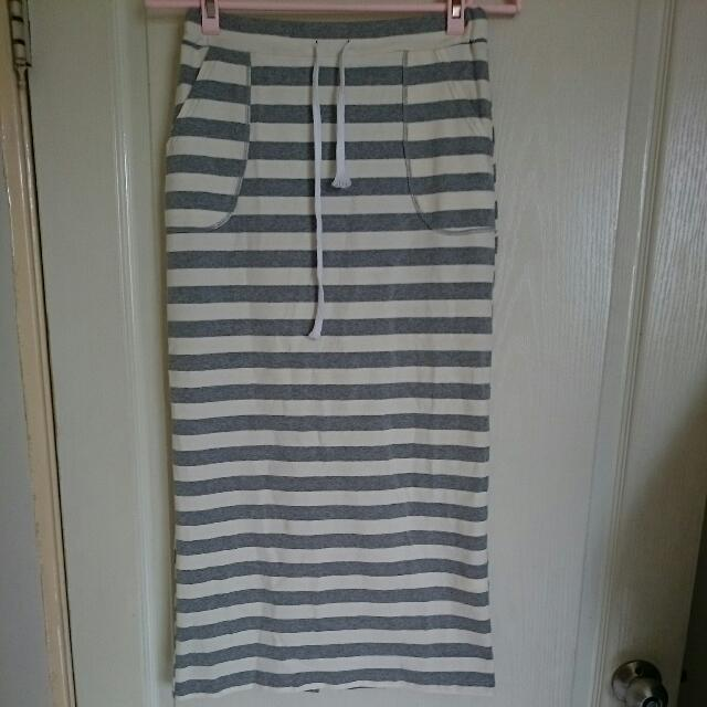 大降價⏬🆕全新條紋棉裙💯