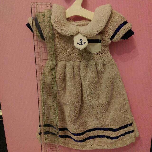 小洋裝擦手巾