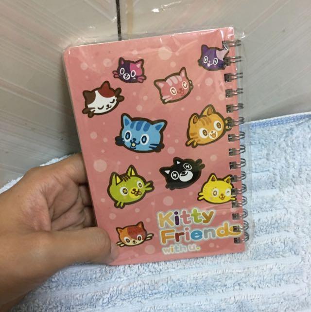 貓咪筆記本