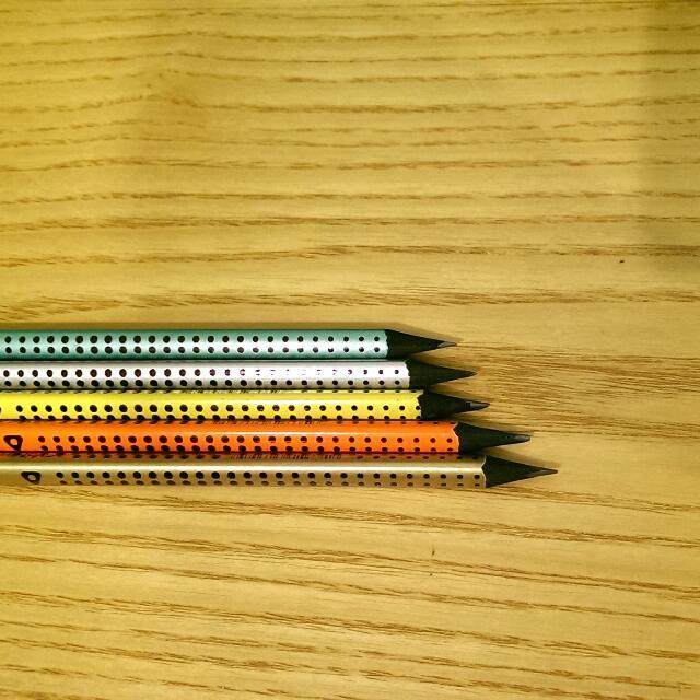 五色三角鉛筆