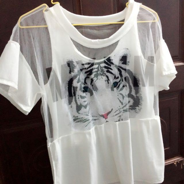 ✨全新✨兩件式老虎衣