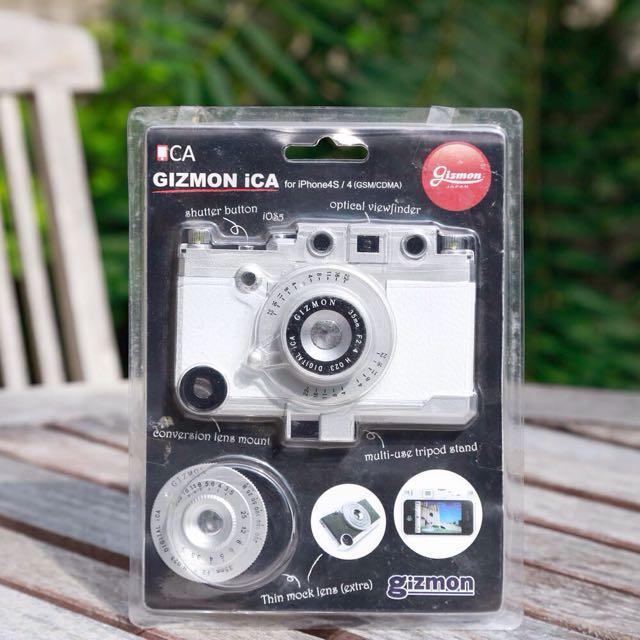 相機造型 手機殼 白 全新