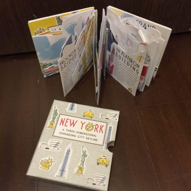 紐約立體書 New York