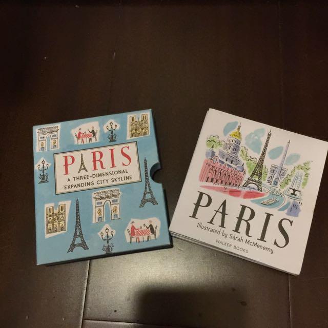 巴黎立體書 Paris