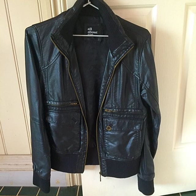 All About Eve Faux Leather Jacket