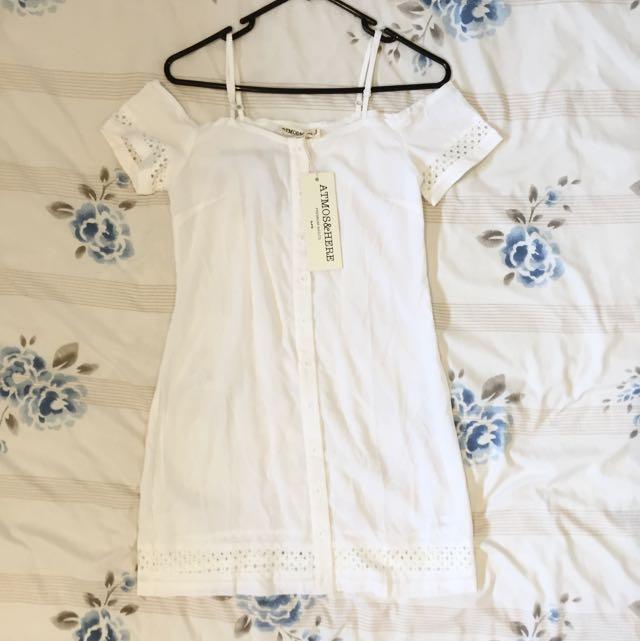 Atmos&Here White Dress
