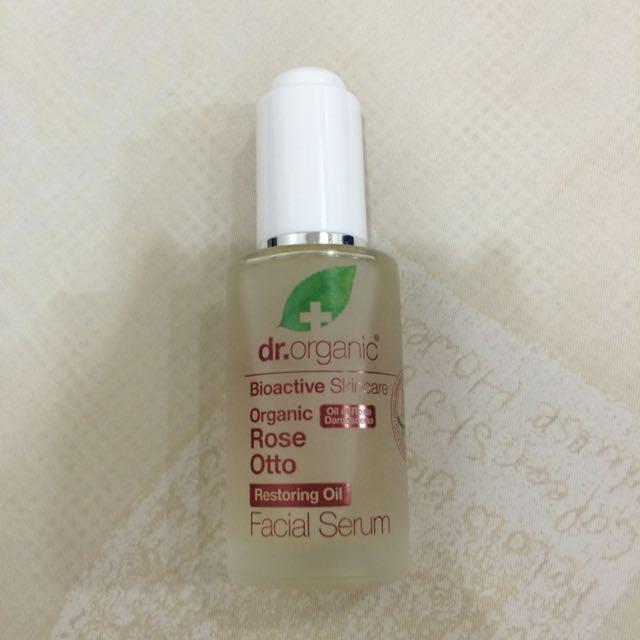 (降)Dr Organic 丹霓珂 奧圖玫瑰臉部保濕精華