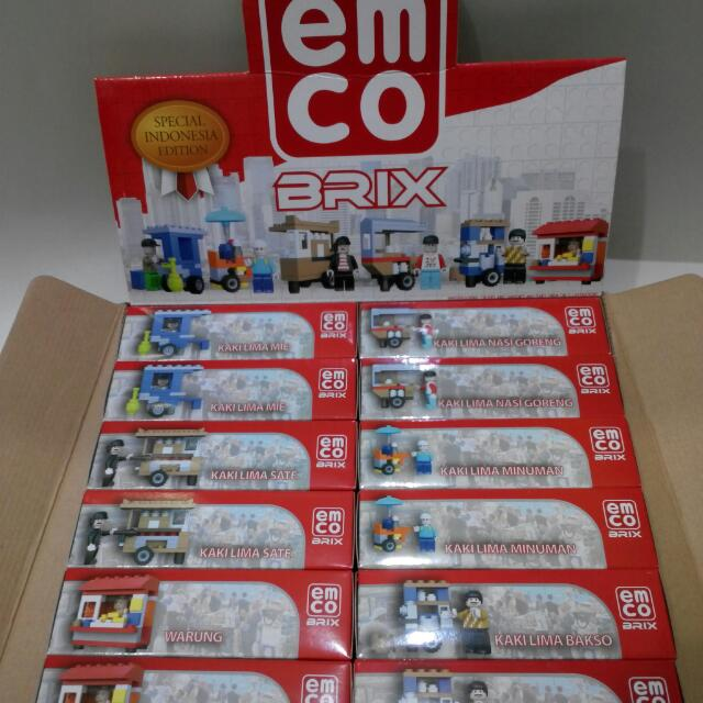 EMCO Brix Special Indonesia Edition - Kaki Lime