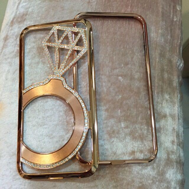 iPhone 6 鑽戒水鑽手機殼