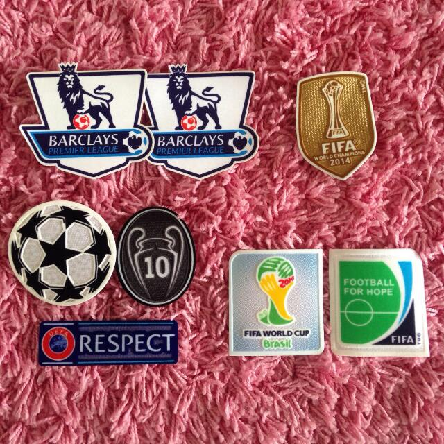 Jersey Patch Football Jersey Badges Patches BPL badge