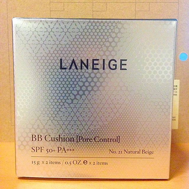 Laneige 蘭芝💧舒芙蕾水凝霜💧N.21粉蕊X1