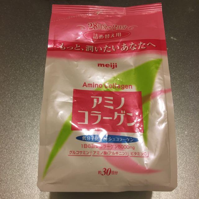 (全新)meiji膠原蛋白補充包