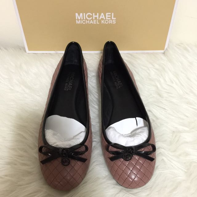 907387cc4f9397 Michael Kors Melody Quilted Ballet Flat Women S Fashion On Carou