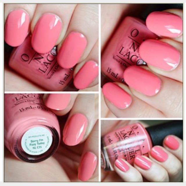 OPI粉色