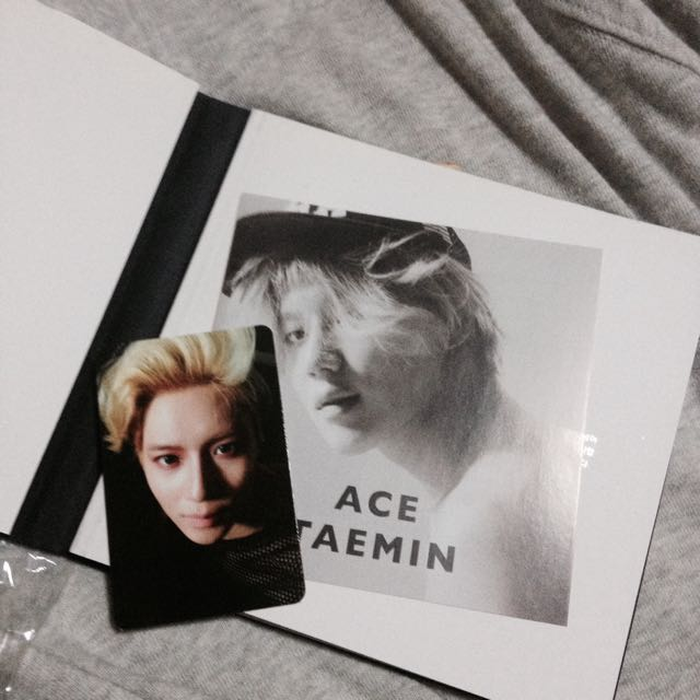 Taemin 'Ace' Album, Entertainment, K-Wave on Carousell