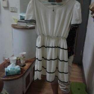 黑白氣質洋裝