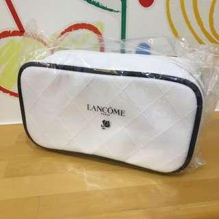 蘭蔻Lancôme 雪白化妝包