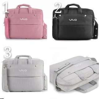 (15寸)時尚手提電腦包  三色自選 粉 黑 灰