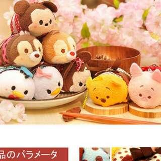 (特價)tsumtsum禮物點點系列日本Disney迪士尼毛絨手機螢幕擦布米奇 米妮 奇奇 蒂蒂 唐老鴨 黛絲 維尼 小豬…任選兩隻599$可與賣場其他同系列一起購買