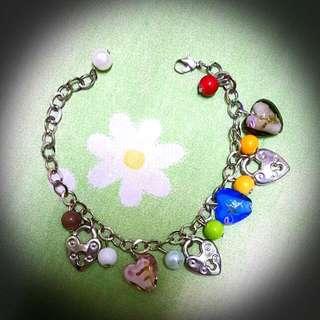 Colourful Charm Bracelet
