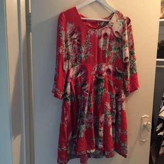 Binny Silk Dress